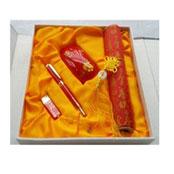 红、黄瓷创意鼠标四件套装