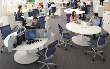 """""""綠色與健康""""成為現代高端辦公家具發展的趨勢"""